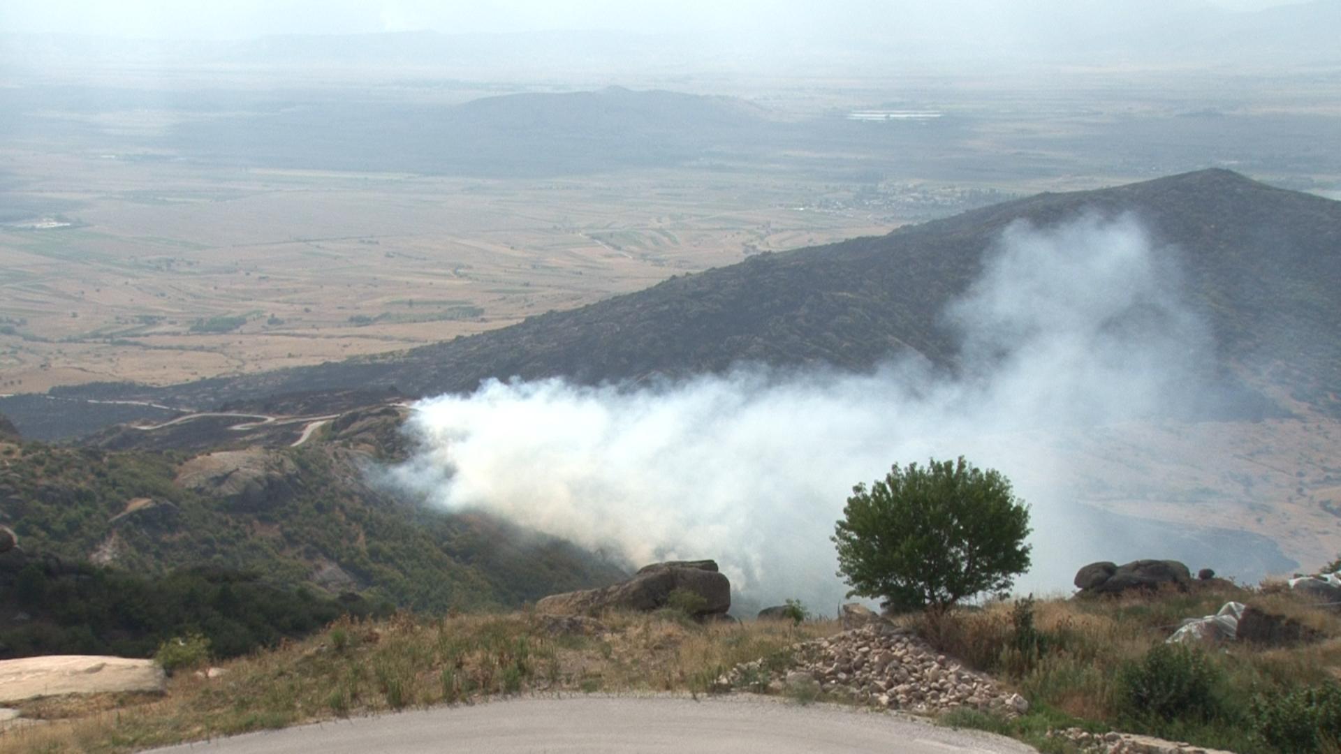 Поголем дел од пожарите во Прилепско се подметнати  итно се бараат доброволци за Трескавец