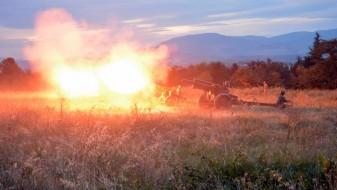 Вечерва ќе има артилериско пукање во Скопје