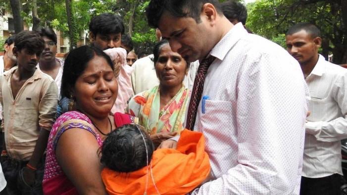 Расте бројот на починати деца во болница во Индија