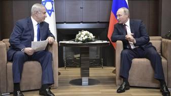 Нетанјаху до Путин: Иран мора да се повлече од Сирија или Израел ќе интервенира