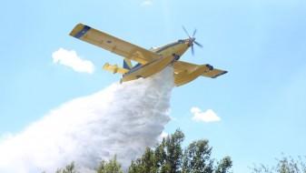 Пожар во Зајас, ангажирани и авиони за негово гаснење