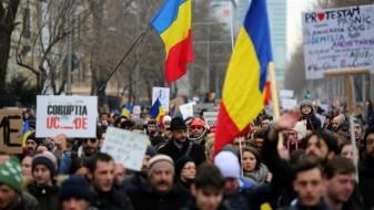 Протест во Романија поради реформи во правосудството