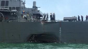 Пронајдени телата на морнарите од американскиот разорувач