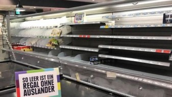 (ВИДЕО) Како би изгледале супермаркетите доколку на полиците има само домашни производи