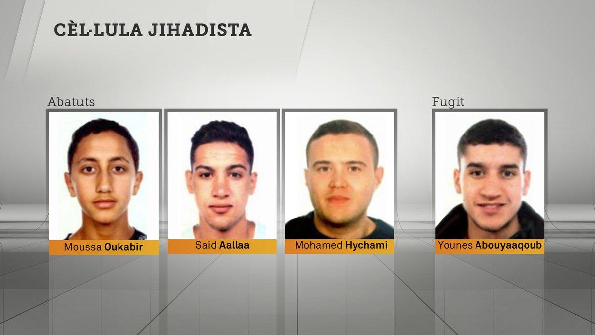 Терористите од Барселона планирале поголем напад