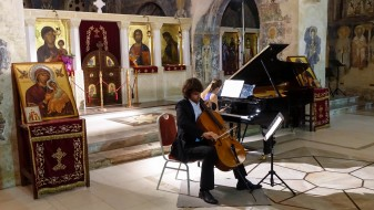 """Рам – Одинцова: Уживавме во амбиентот на """"Света Софија"""" и во вниманието на публиката"""