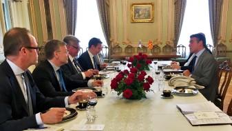 Димитров-Соини: Финска ги поддржува напорите на Македонија за враќање на европската перспектива