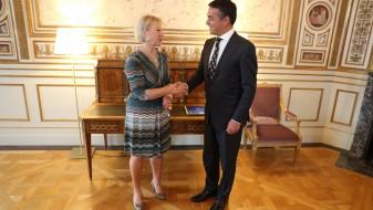 Усвоена декларација за соработка помеѓу Шведска и Македонија