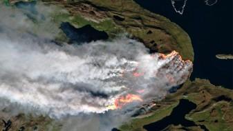 Историски феномен – пожари и на Гренланд