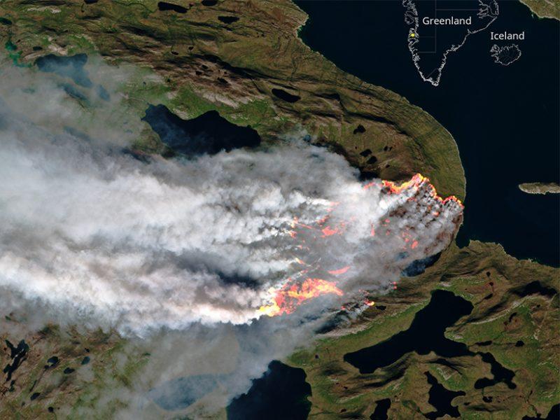 Историски феномен   пожари и на Гренланд