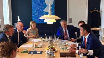 Данска ја поддржува Македонија на нејзиниот евро-атлантски пат
