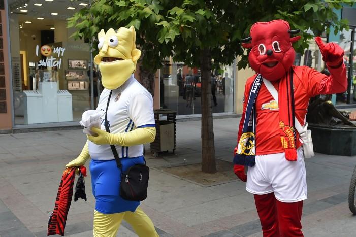 Скопје преполно со љубители на фудбалот во исчекување на УЕФА Суперкупот