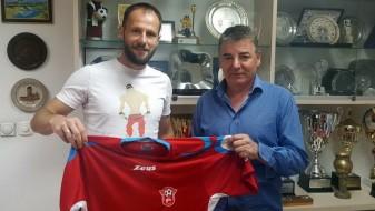 Остоја Стјепановиќ потпиша за Работнички