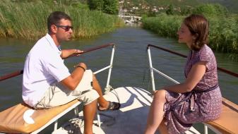 Би-би-си со видеорепортажа за Охридското Езеро
