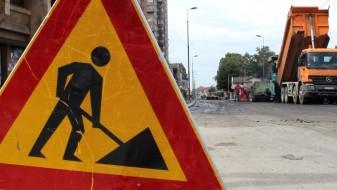 """Завршуваат работите на реконструкцијата на топловодот на БЕГ на улицата """"Народен фронт"""" во Капиштец"""