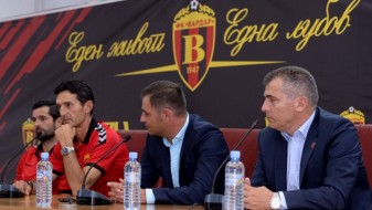 Јаневски нов тренер на Вардар, дебитира утре против Фенербахче