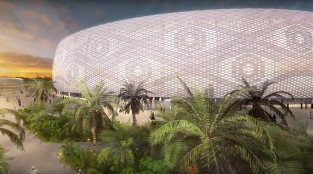 Катарците градат стадион во облик на капа