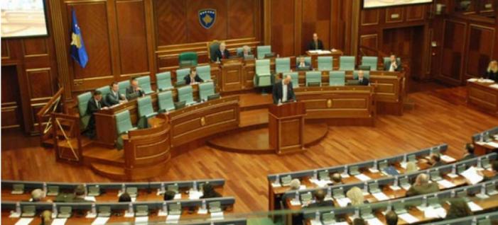 Конститутивната седница на косовоскиот парламент продолжува в понеделник
