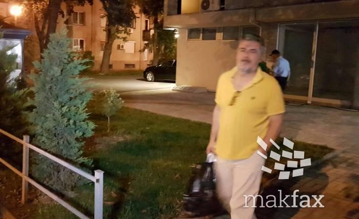 Љупчо Палевски четири часа беше на распит во СЈО