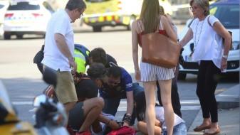 Засега нема информации за повредени Македонци во Барселона
