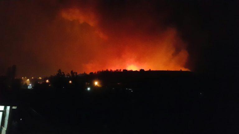 Голем пожар во Кондово