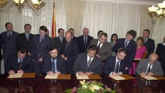 Утре ќе биде одбележана годишнината од потпишувањето на Охридскиот ракомвен договор