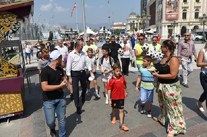 Суперкуп: Скопје изминативе денови го посетиле 100.000 луѓе од земјата и странство