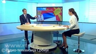 Вучиќ: Се правеа луди на вашата телевизија, а имаат одлука да гласаат за Косово во УНЕСКО