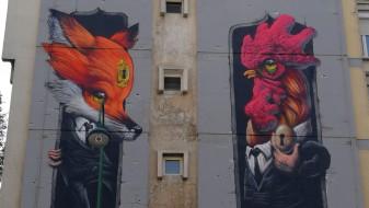 Скопје доби нов мурал