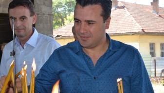 Премиерот Заев на литургија во Водоча