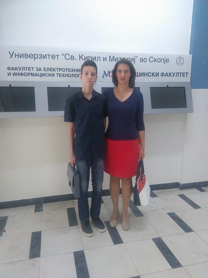 Македонски основец меѓу првопласираните на престижен интернационален натпревар по геометрија