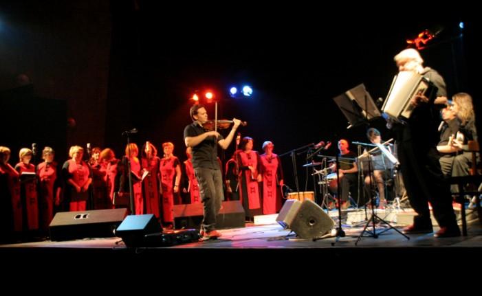 """Концерт на етносоставот """"Езерки и 7/8"""" во Тетово"""