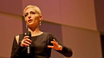 Премиерна изведба на композицијата Intervowen од Дарија Андовска во Кина