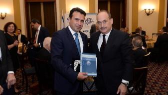 Заев најави развивање на воено-техничката соработка со Израел