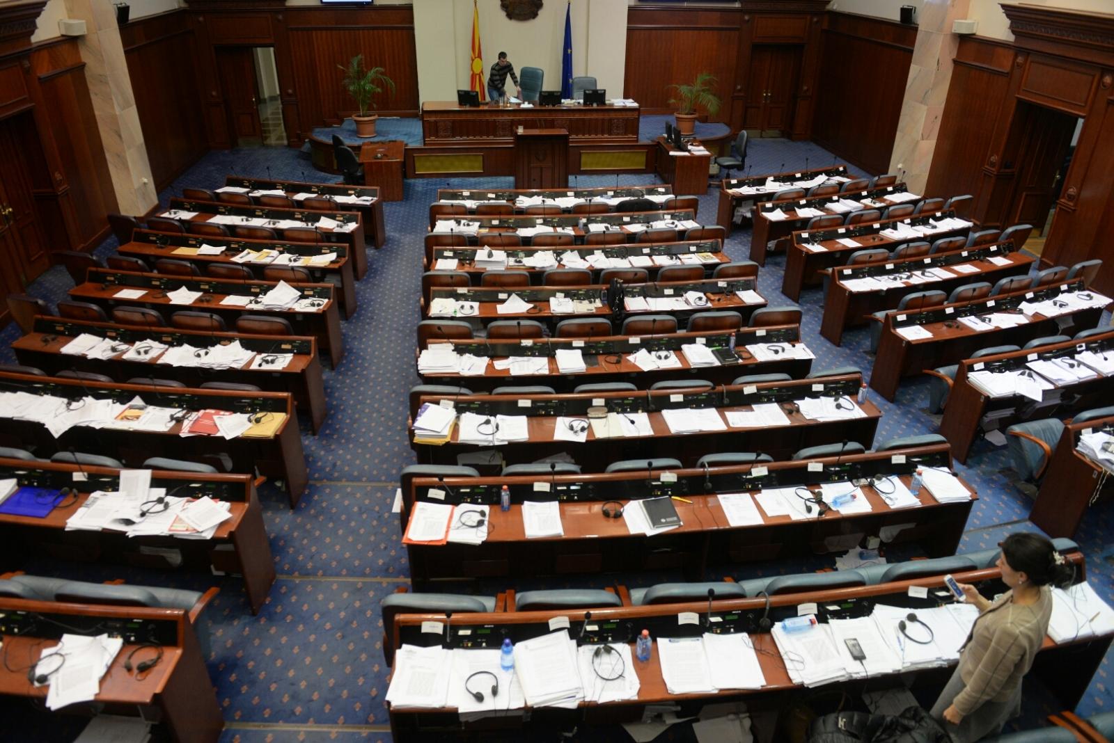 Пратениците ќе гласаат за потребата од носење на Законот за употреба на јазиците