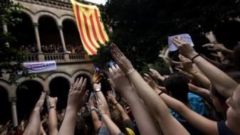 Собири за поддршка на референдумот во Каталонија