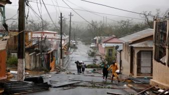 Ураганот Марија го остави цело Порторико без струја, уништува сè на својот пат