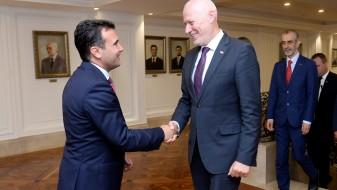 Средба Заев – Брглез: Словенија е силен поддржувач на Македонија на патот до ЕУ