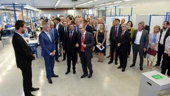 """(ВИДЕО) Вицепремиерот Анѓушев на отворање на новата фабрика """"ОДВ електрик"""""""