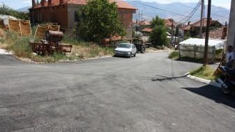 """Асфалтирана улицата """"Ило Полутешка"""" во населбата Варош во Прилеп"""