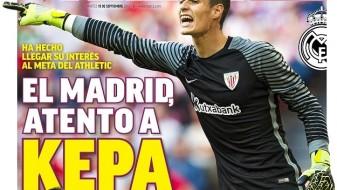Реал тргна по голманот на Атлетик, Кепа Аризабалага