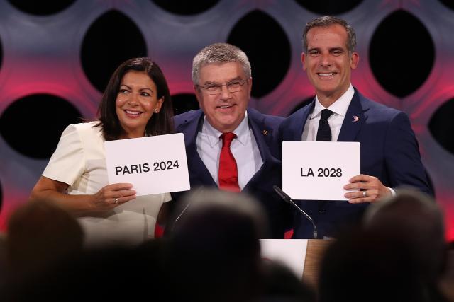 ОИ во Париз во 2024  а во ЛА во 2028 година