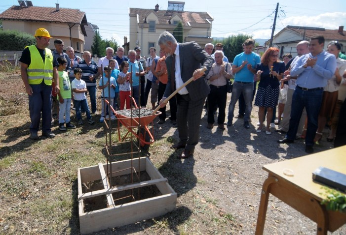 Нова градинка во населбата Бардовци