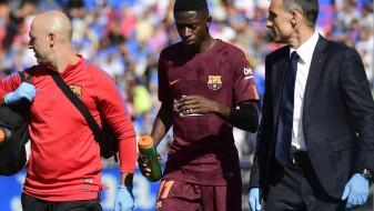 Барселона заработи 10 милиони евра од повредата на Дембеле