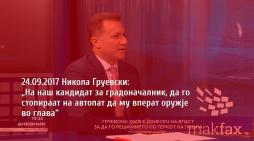 МВР: Не е точно дека полицаец му вперил оружје на кандидат за градоначалник на ВМРО-ДПМНЕ