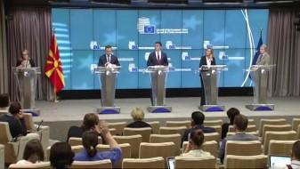 Никола Димитров на состанок на ЕУ во Талин