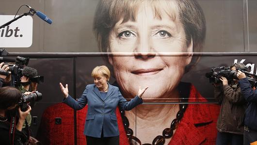 Ангела Меркел останува германски канцелар, ЦДУ убедливо победи