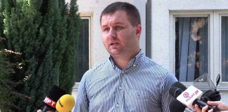 Саша Богдановиќ кандидат за градоначалник на Општина Центар
