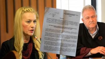 Неделкова со солзи во очите до Јово Вангеловски: Престани да го приватизираш Врховен!