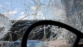 """Возач и сопатничка тешко повредени во """"сообраќајка"""" на автопатот Тетово-Гостивар"""